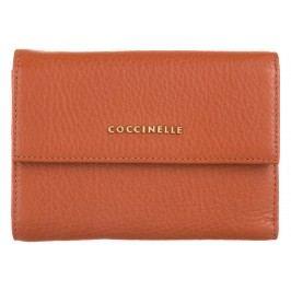 Metallic Soft Peněženka Coccinelle | Oranžová | Dámské | UNI