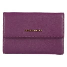 Metallic Soft Peněženka Coccinelle | Fialová | Dámské | UNI