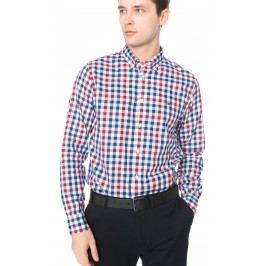 Multi Gingham Košile Tommy Hilfiger | Modrá Červená Bílá | Pánské | XL