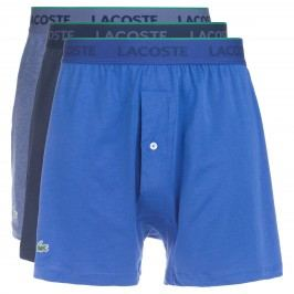 Boxerky 3 ks Lacoste | Modrá | Pánské | S