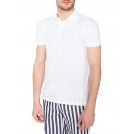 Polo triko Trussardi Jeans | Bílá | Pánské | M