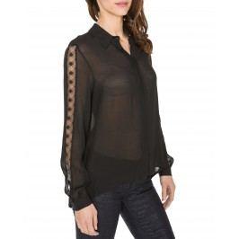Georgette Košile Trussardi Jeans | Černá | Dámské | XS
