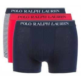 Boxerky 3 ks Polo Ralph Lauren | Modrá Červená | Pánské | L