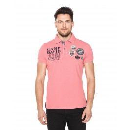 Polo triko Camp David | Růžová | Pánské | L