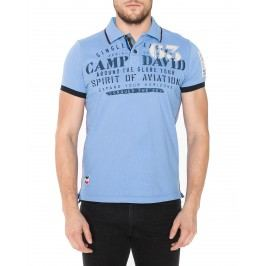 Polo triko Camp David | Modrá | Pánské | L