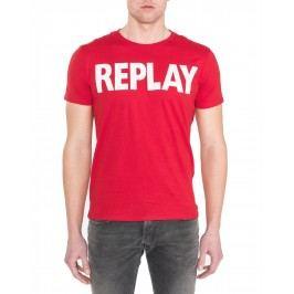 Triko Replay | Červená | Pánské | M
