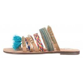 Pantofle Tom Tailor Denim | Modrá Hnědá | Dámské | 36