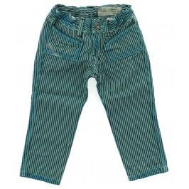Kalhoty dětské Diesel   Modrá Zelená   Dívčí   6 měsíců