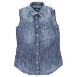 Košile dětská DSQUARED2 | Modrá | Dívčí | 8 let