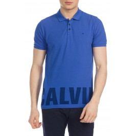 Pronto Polo triko Calvin Klein | Modrá | Pánské | XL