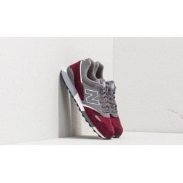New Balance 446 Grey/ Burgundy