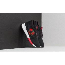 le coq sportif Omicron Embroidery Black/ Tango Red