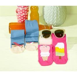 Dámské ponožky s motivem Beach, 2 páry