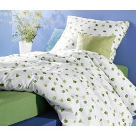 Žerzejové napínací prostěradlo, 140 x 200 až 160 x 200 cm, zelené