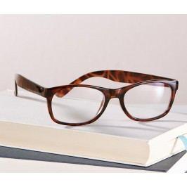 Náhradní brýle na čtení, hnědé
