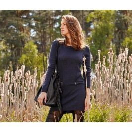 Pletené svetrové šaty