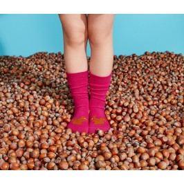 Dětské ponožky s motivy zvířátek, 2 páry, červené